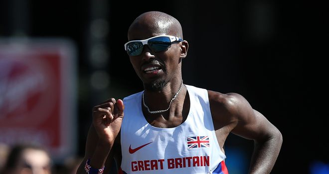 Mo Farah will run the 5,000 and 10,000 in Zurich