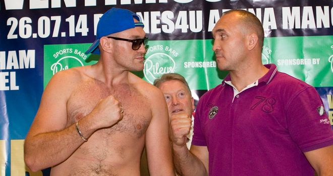 Tyson Fury and Alexander Ustinov: Manchester meeting is off