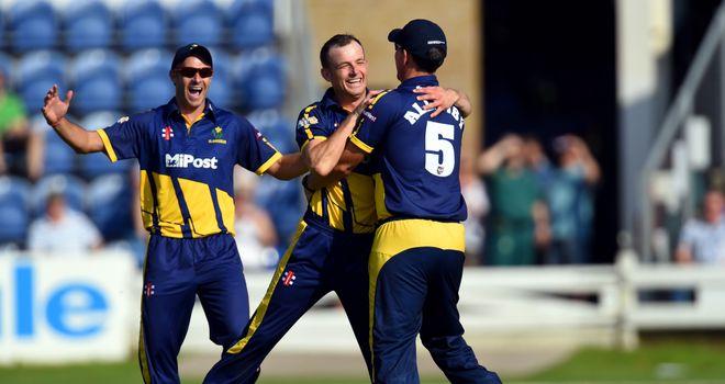 Graham Wagg: seamer helped Glamorgan advance in the T20 Blast