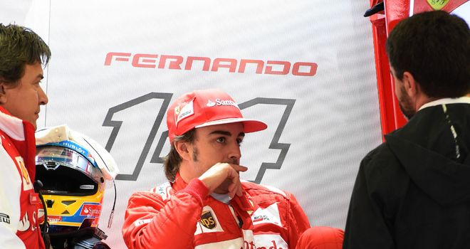 Fernando Alonso: Qualified 19th for the British GP