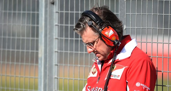 Ferrari deny Fry's been sacked