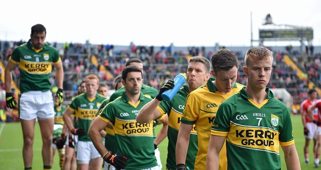 Fionn Fitzgerald, right, will captain Kerry in Sunday's All-Ireland final