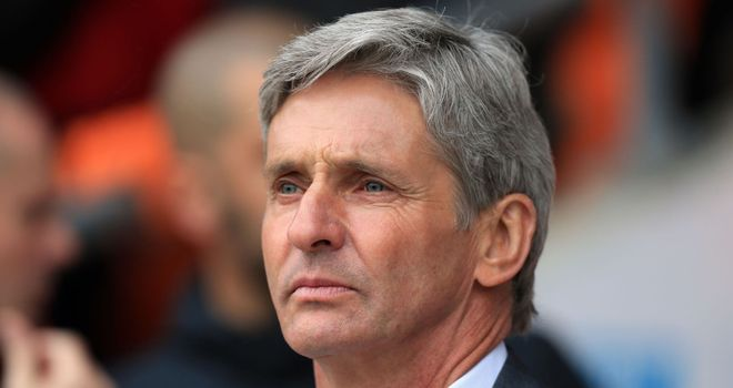 Jose Riga: Has walked into a difficult situation at Blackpool
