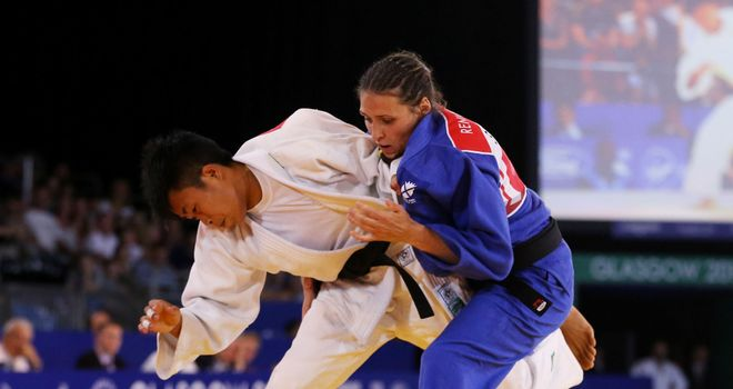 Kimberly Renicks (R): Won Scotland's first gold medal of the 2014 Commonwealth Games