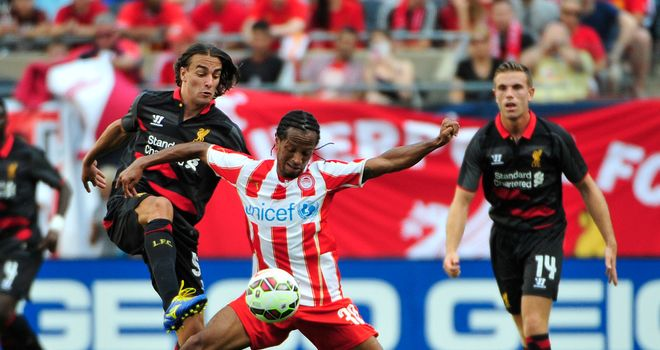 Lazar Markovic: Confident he can shine at Anfield