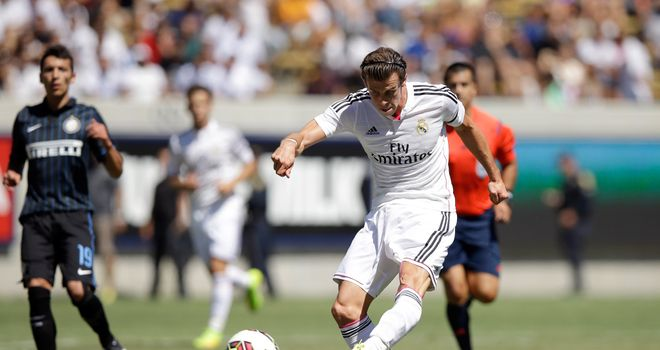 Gareth Bale: Scored from long range for Real
