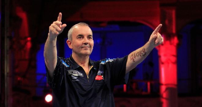 Phil Taylor: Won through in Blackpool