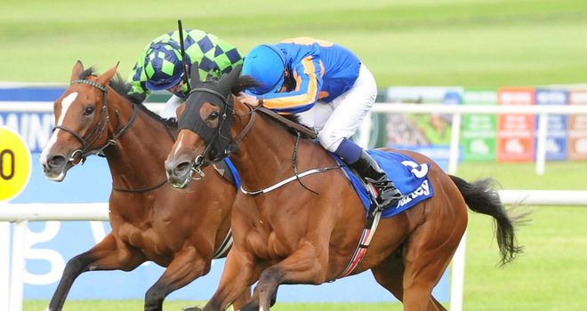 Bracelet, ridden by Colm O'Donoghue, takes Classic glory at the Curragh