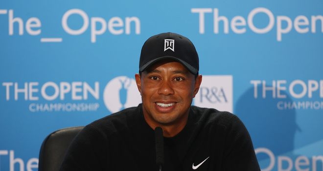Tiger Woods: Feeling good ahead of The Open