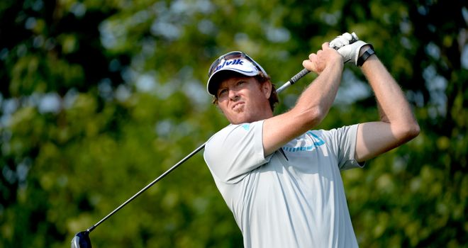 Tim Petrovic: Shares the lead at the Canadian Open