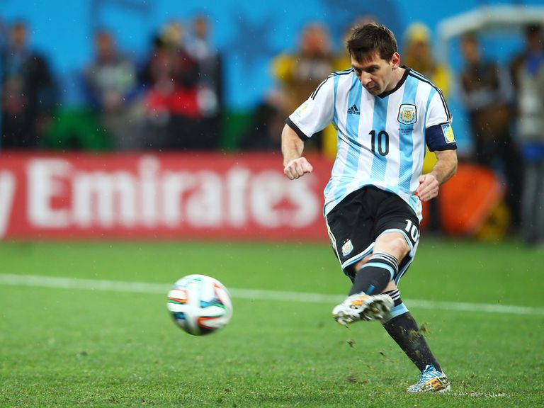 Lionel Messi: Scored four times en route to the World Cup final