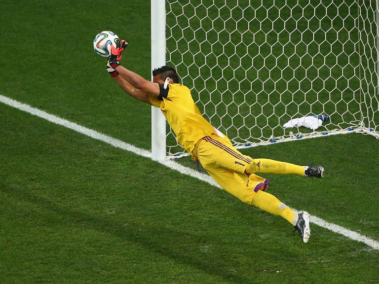Sergio Romero: Saved two penalties in the World Cup semi-final