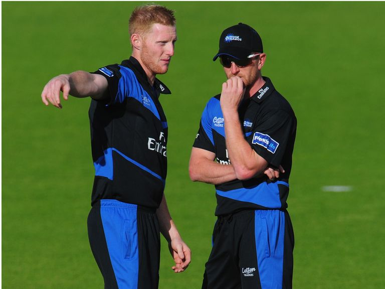Paul Collingwood (r): Ben Stokes belongs with England