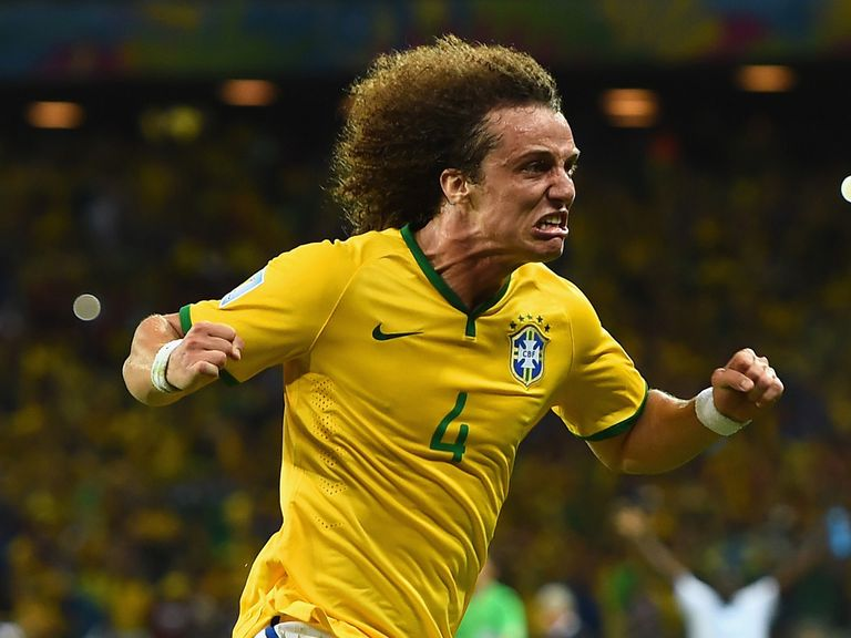 David Luiz: Emotionally charged on Friday night