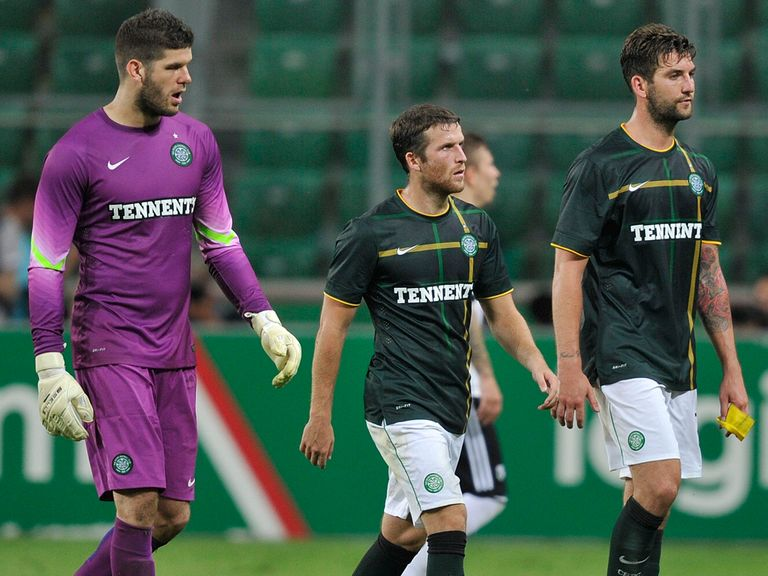 Celtic were thumped 6-1 on aggregate by Legia Warsaw