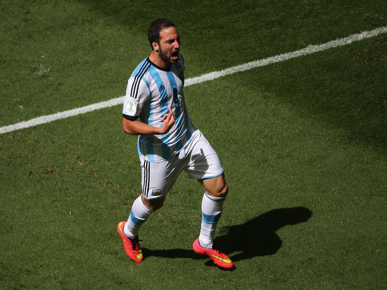 Higuain: Best match of the finals so far against Belgium