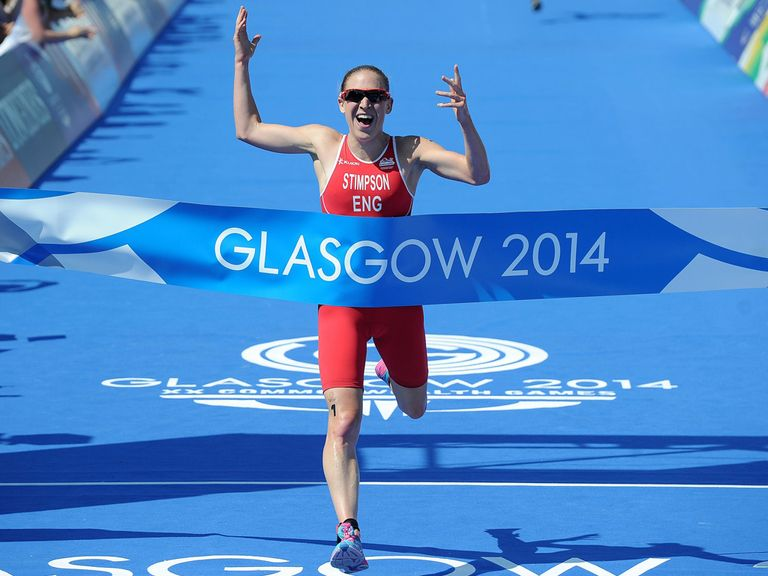 Jodie Stimpson wins gold in Glasgow