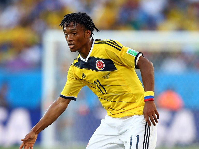 Juan Guillermo Cuadrado: Contracted until 2017