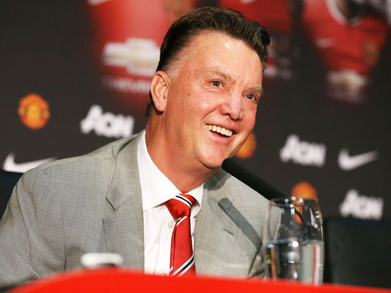 Louis van Gaal: Considered a great manager by Jose Mourinho