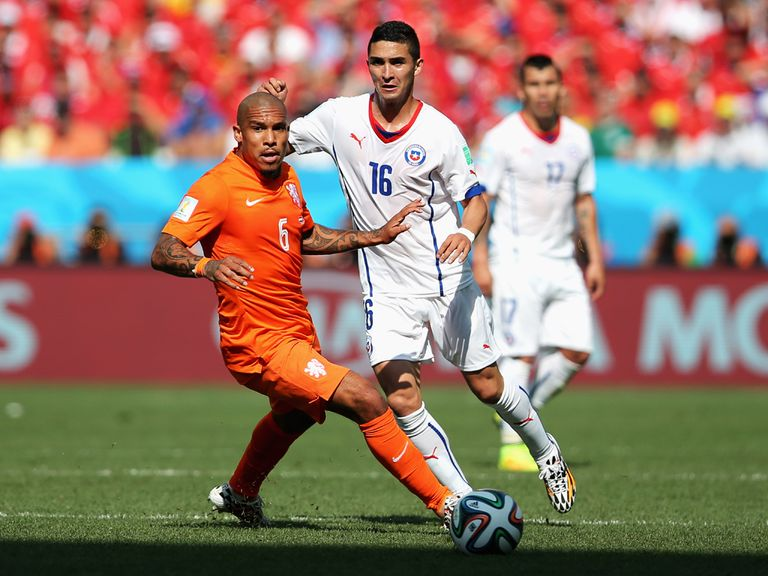 The Dutch can cope without Nigel de Jong against Costa Rica