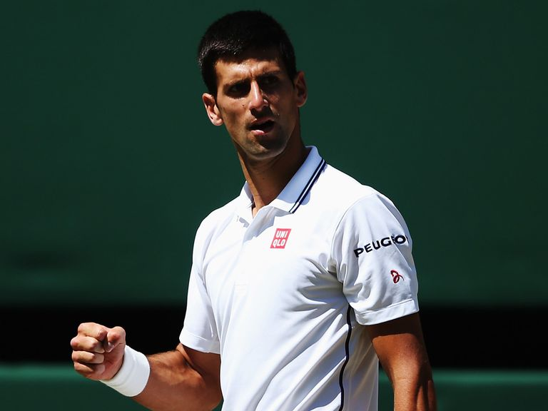 Djokovic: Faces the experience of a resurgent Federer on Sunday