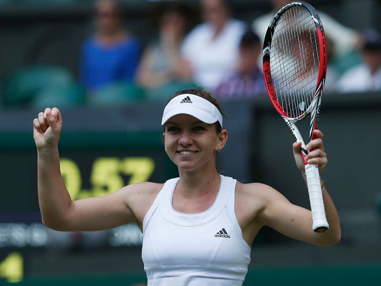 Simona Halep: Secured the final 11 games to beat Sabine Lisicki