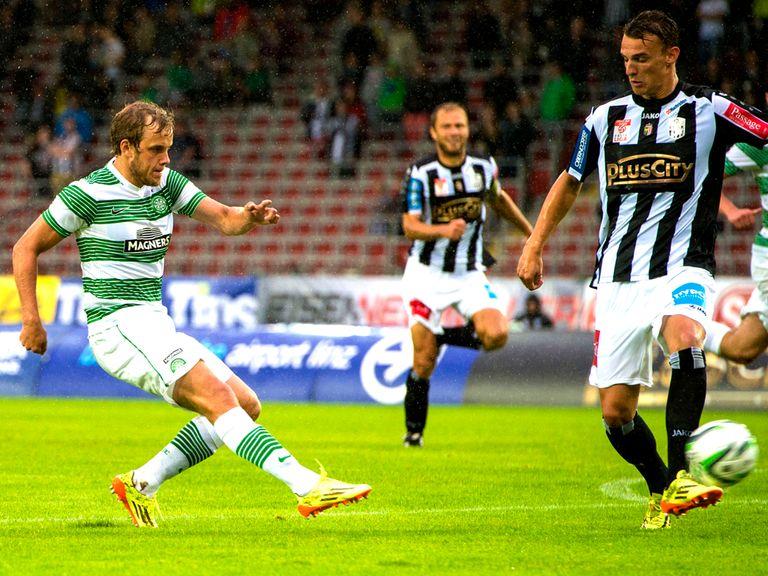 Teemu Pukki scores his first goal