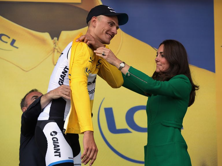 Marcel Kittel: Won opening stage for second year running