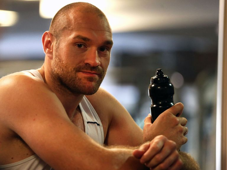 Tyson Fury: Forced to withdraw