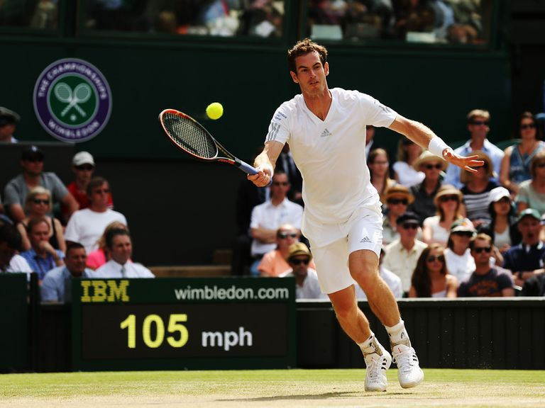 Andy Murray: Looking to make improvements to his game