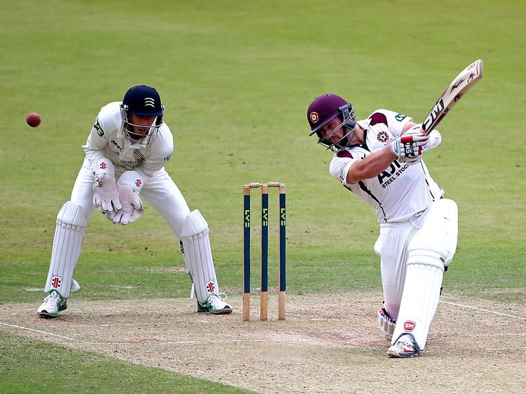 Steven Crook: Maiden first-class century
