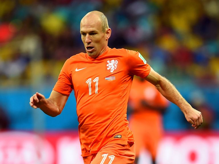 Arjen Robben: Won't be joining Manchester United