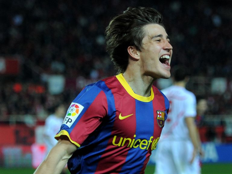 Bojan Krkic: Has signed for Stoke on a four-year deal