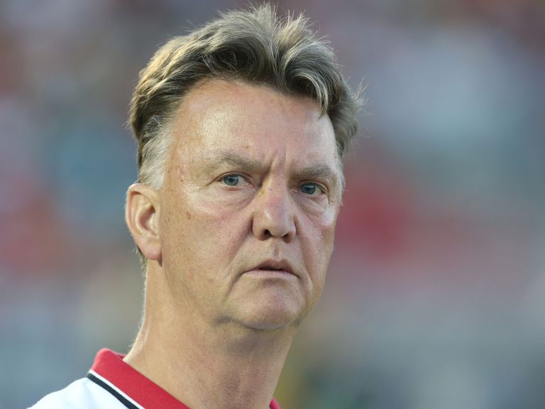 Louis van Gaal: Set to confront Jose Mourinho
