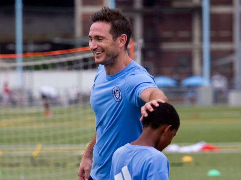 Lampard: Could possibly link up with Manchester City