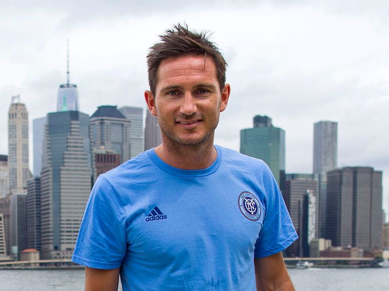 Frank Lampard has met up with his new Manchester City team-mates