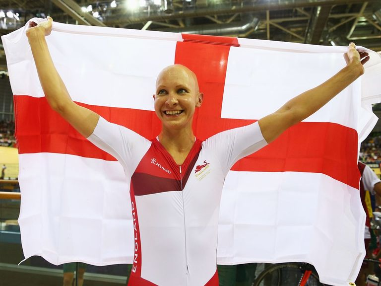 Joanna Rowsell won gold in the individual pursuit