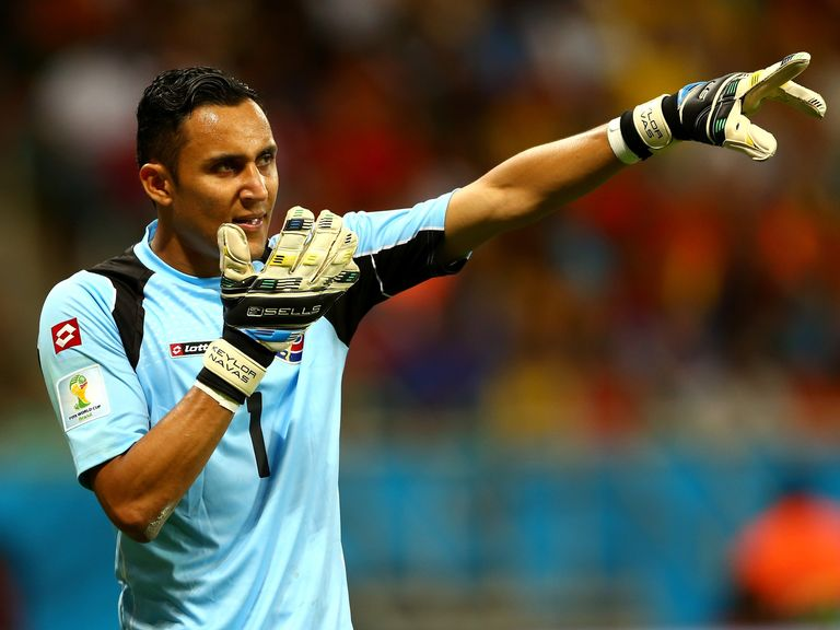 Goalkeeper Keylor Navas: New signing for Real Madrid