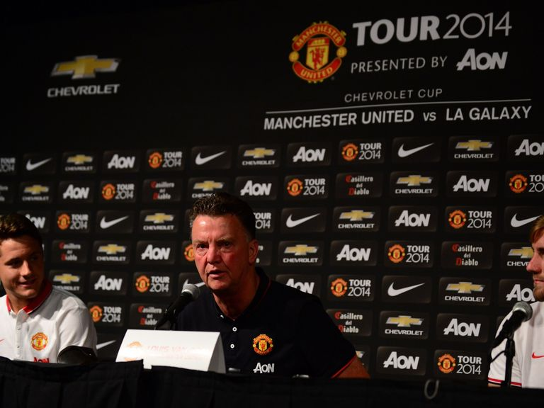 Louis van Gaal: 'United shall do everything to adapt to my rules'