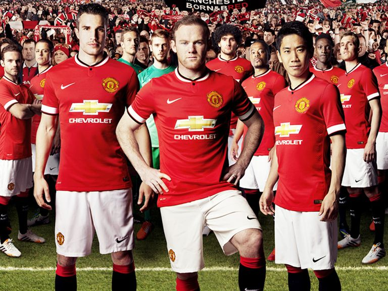 Manchester United: Recently unveiled their new home kit