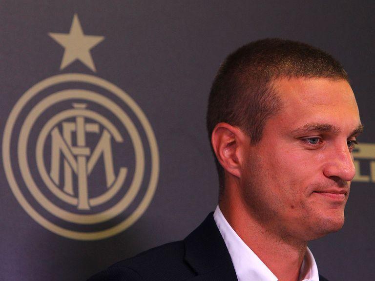 Nemanja Vidic has arrived at Inter Milan