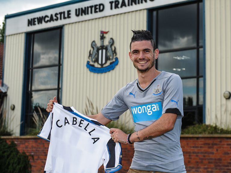 New signing Remy Cabella is aiming to establish himself on Tyneside