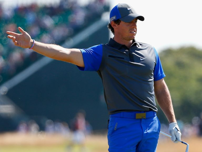 Rory McIlroy: Leads after day one