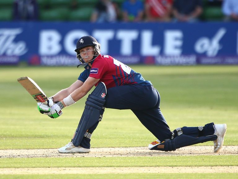 Sam Billings' stunning innings helped Kent to victory