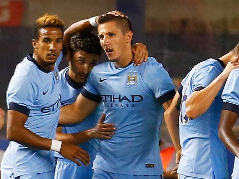Stevan Jovetic: In goalscoring form during pre-season