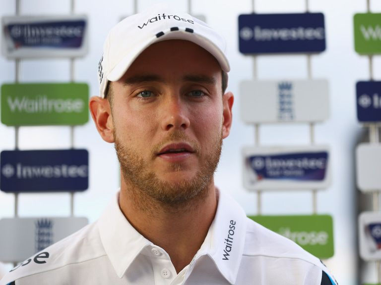 Stuart Broad: Support for Cook