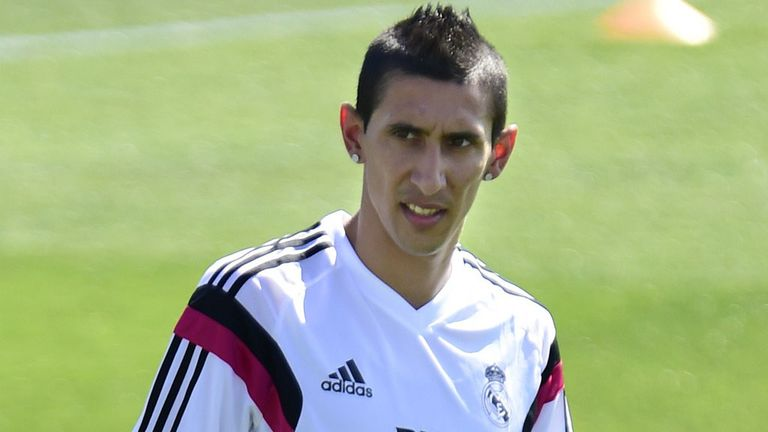 Angel Di Maria: Reported to be subject of a £100m Man United bid