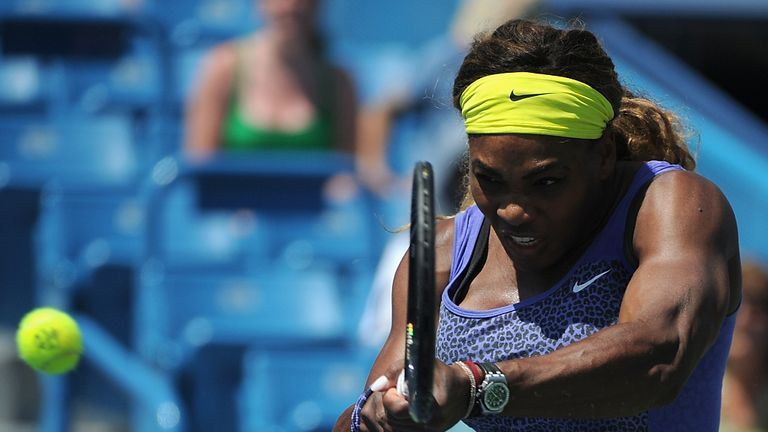 Serena Williams: has never won the title in Cincinnati