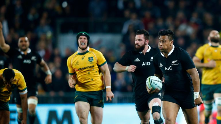 Complete performance: New Zealand thump Australia in the Rugby Championship