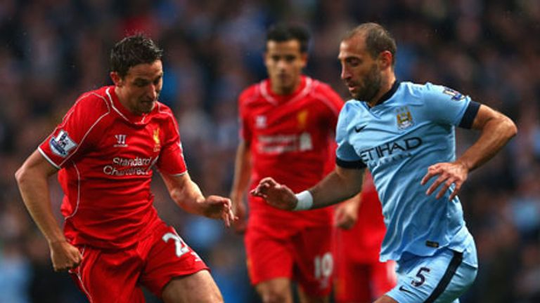 Liverpool host champions City at Anfield on Sunday lunchtime